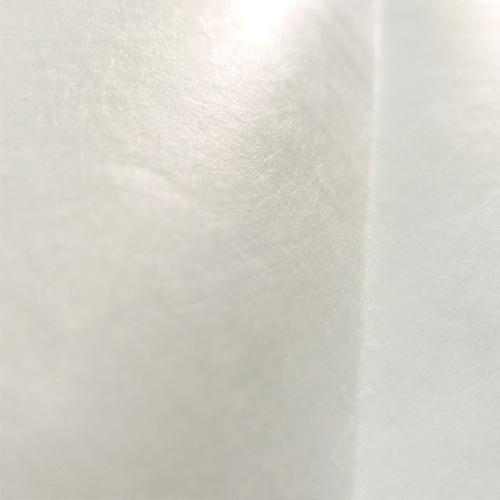 微焦镜头下拍摄到的特卫强喷丝纤维